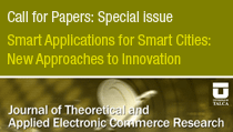 Call for Papers: Smart Applications for Smart Cities