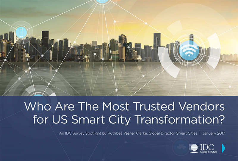 which are the most trusted vendors for u s  smart city