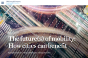 The futures of mobility: How cities can benefit
