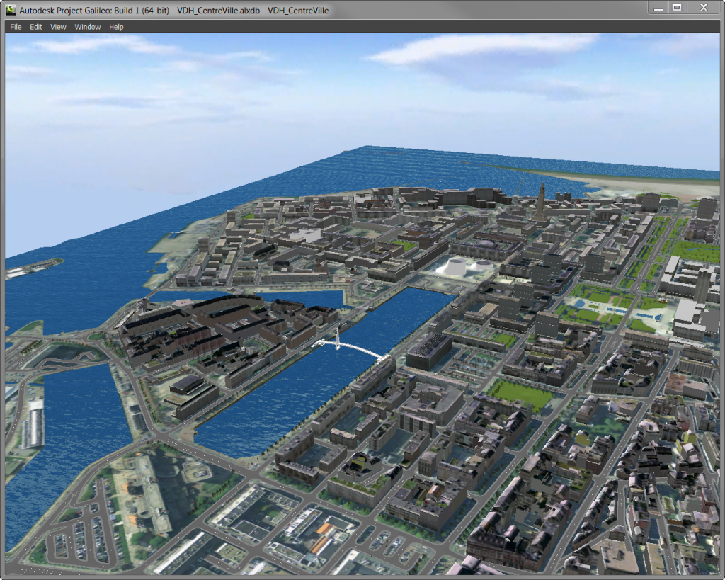 Create 3D City Models with Galileo - URENIO Watch