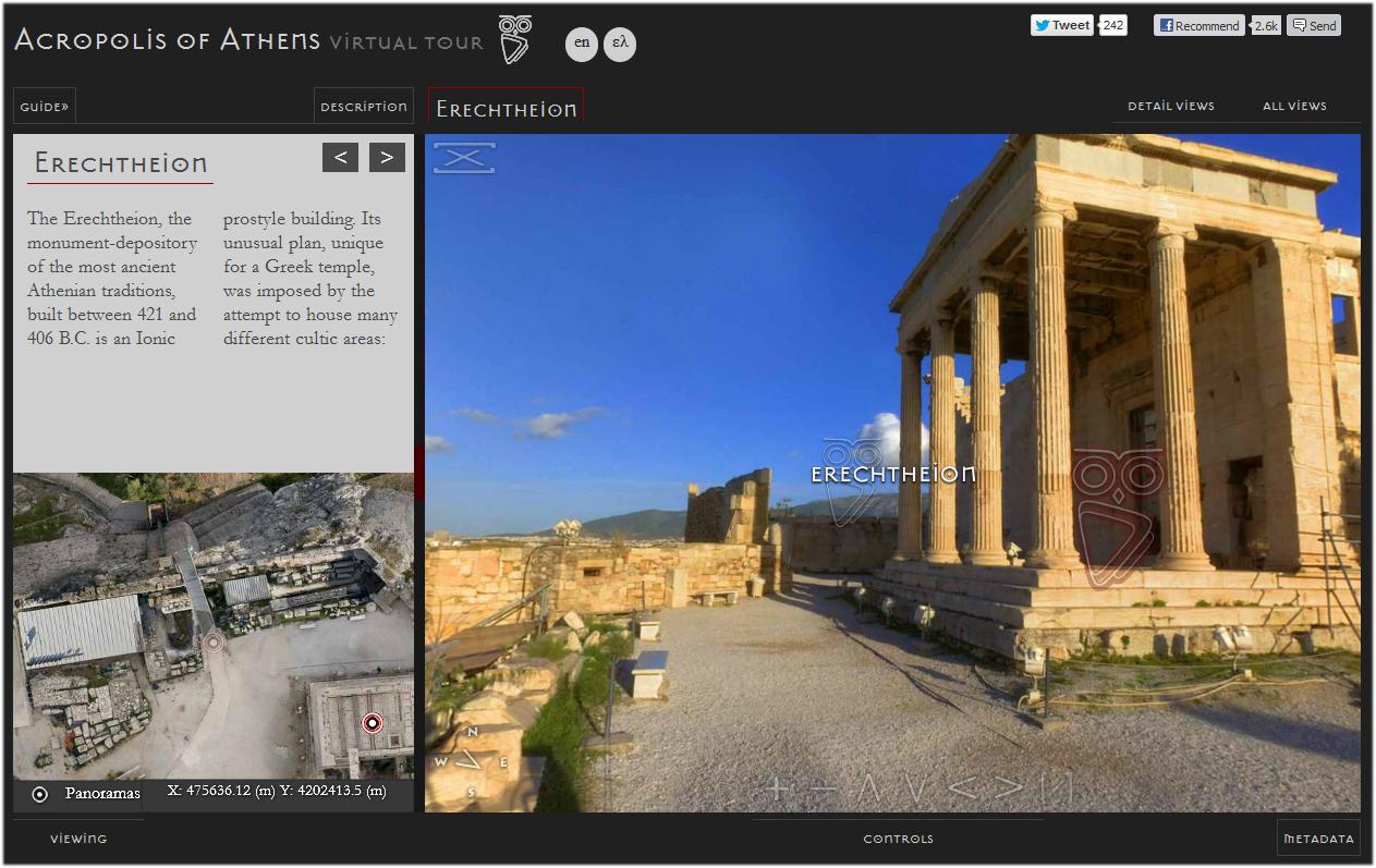 Acropolis Athens Virtual Tour