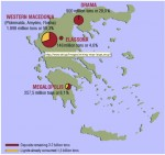 N. Greece lignate deposits