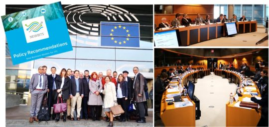 NEWBITS Final conference EU Parliament picture